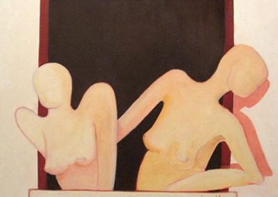 à janela, 2004, ol.s.t. 50x60