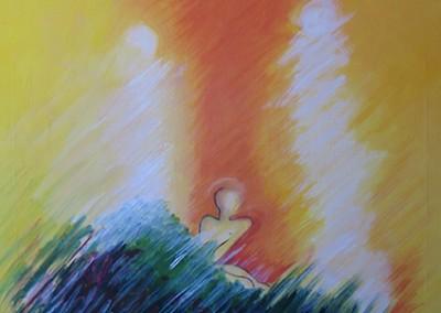 Primavera, ac.s.t., 50x50