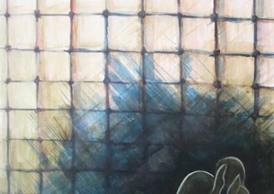aprisionado, ol. s. tela, 70x50