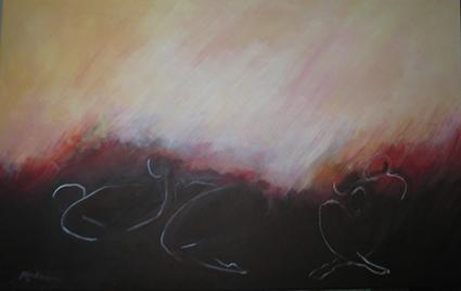 das cinzas se renasce, ac. s t. 50x80