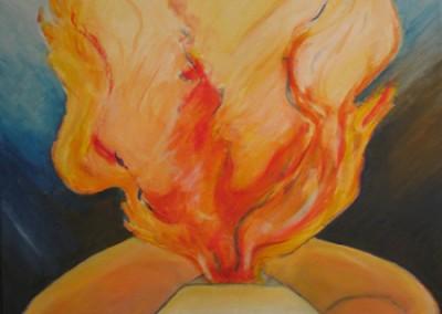 o fogo-oleo s. tela 65x55