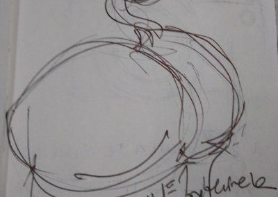 croquis, A5, grafite s papel